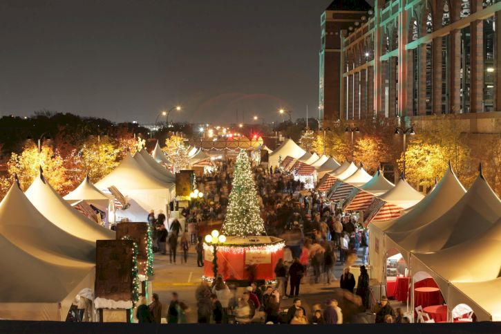 Texas Christkindl Market, Arlington, Texas