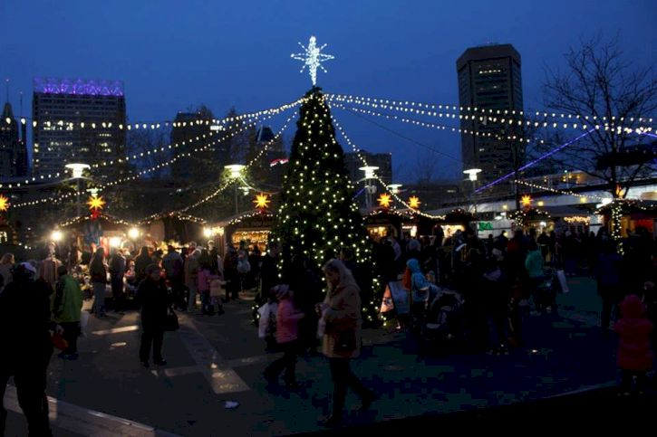 Christmas Village, Baltimore, Maryland