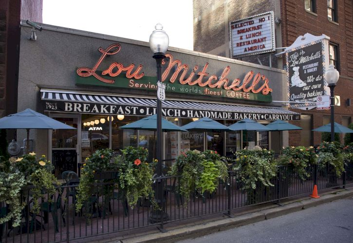 Lou Mitchell's Restaurant, Chicago