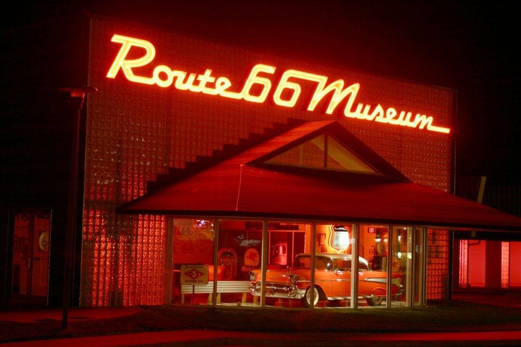 Oklahoma Route 66 Museum, Clinton, Oklahoma