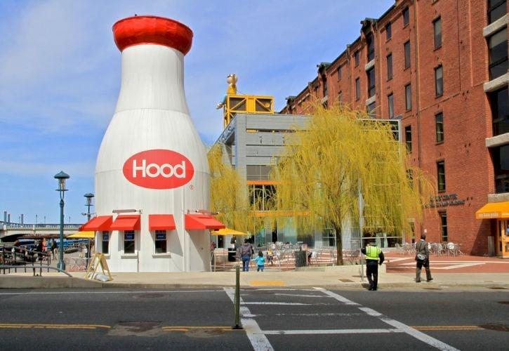 Hood Milk Bottle, Boston, Massachusetts