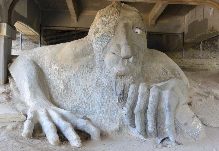 The Fremont Troll, Seattle, Washington
