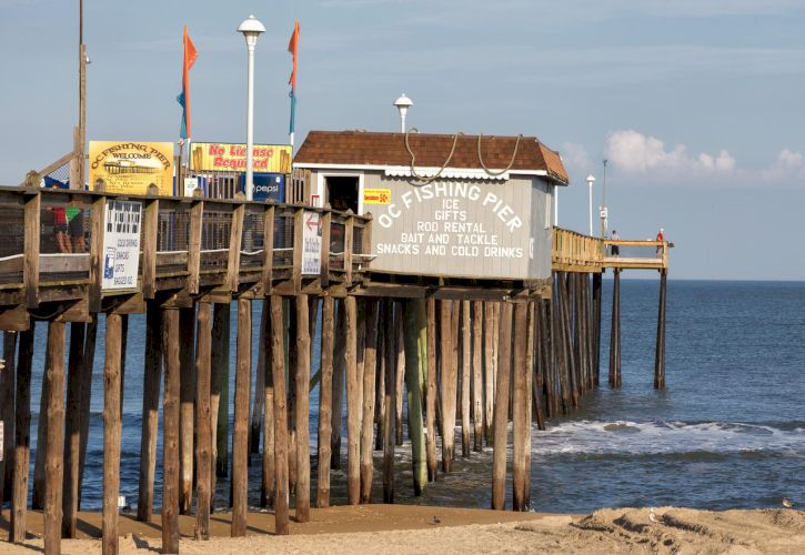 Ocean City Pier, Ocean City, Maryland