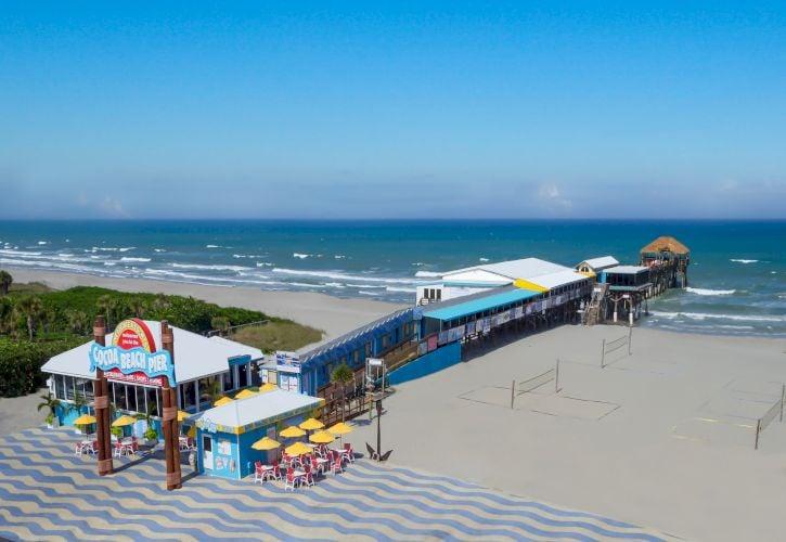 Cocoa Beach Pier, Cocoa Beach, Florida