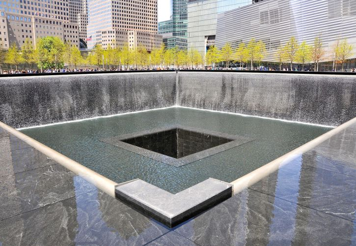 The World Trade Center Memorial, New York City, New York