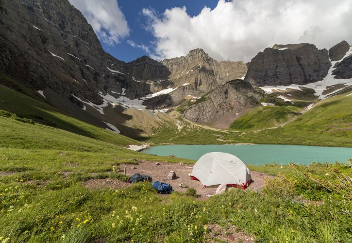 Many Glacier Campground, Glacier National Park, Montana