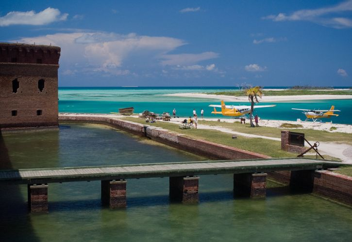 Garden Key Campground, Dry Tortugas National Park, Florida
