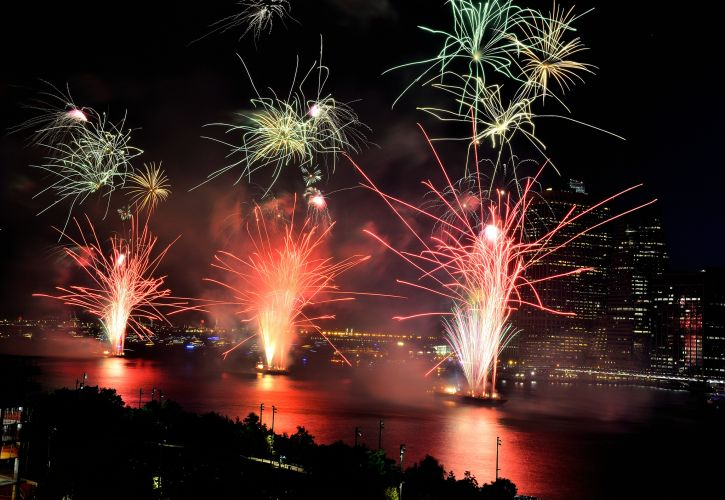 Macy's Annual 4th July Fireworks, New York