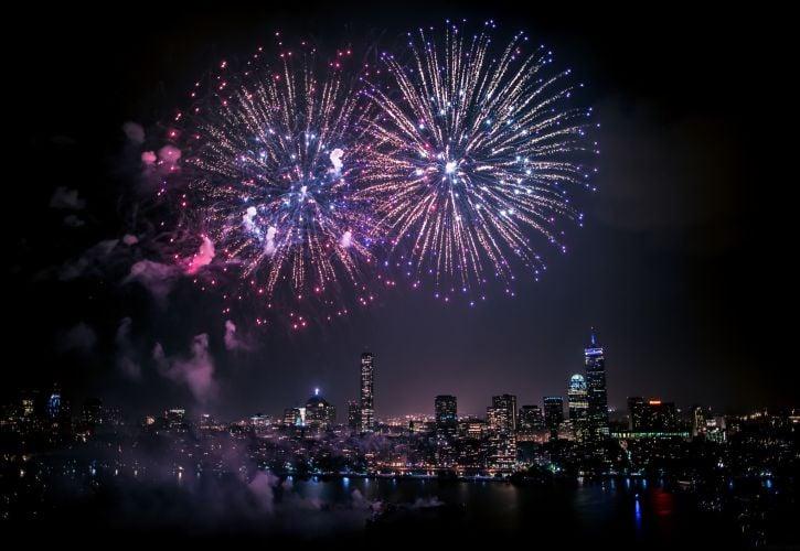Boston Pops Fireworks Display, Massachusetts