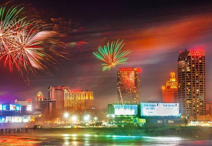 Atlantic City 4th July Fireworks, New Jersey