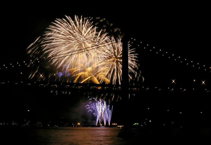July 4th Celebration at the Pier, San Francisco