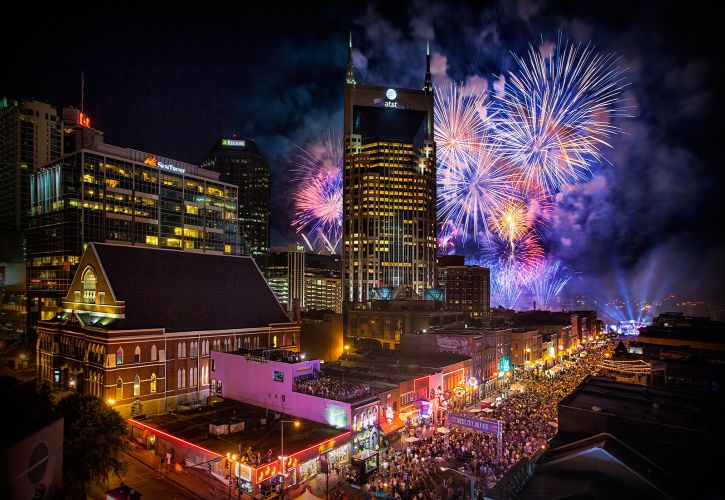 Music City, Nashville 4th July Celebrations,Tennessee
