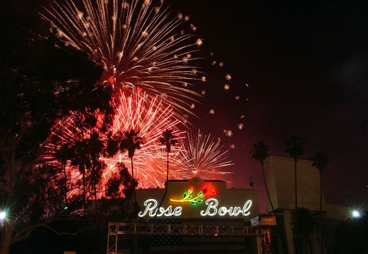 4th July AmericaFest at the Rose Bowl, California