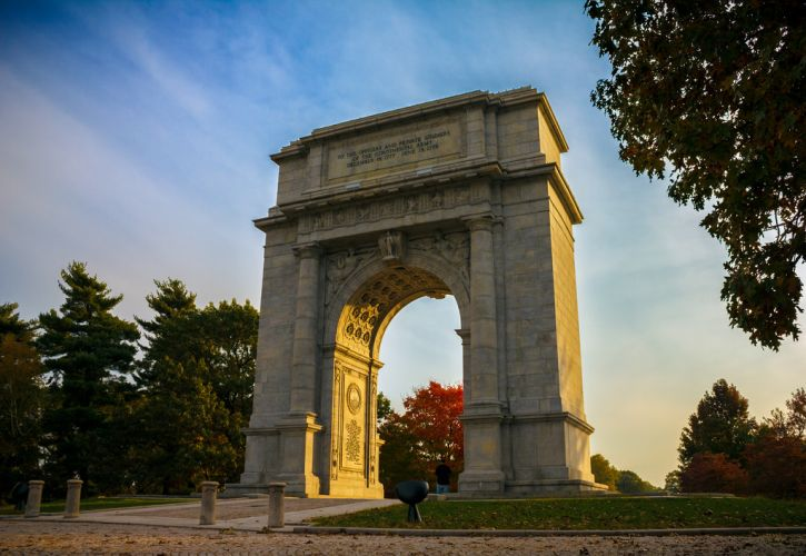 National Memorial Arch at Valley Forge, Pennsylvania