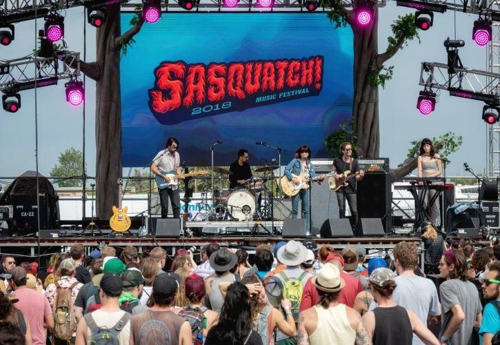 Sasquatch Music Festival, Quincy, Washington