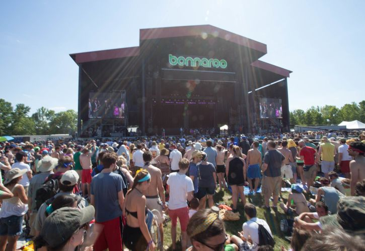 Bonnaroo Music and Arts Festival, Manchester, Tennessee