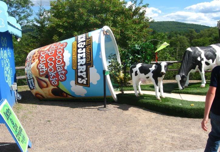 Vermont: Ben & Jerry's Ice Cream Factory