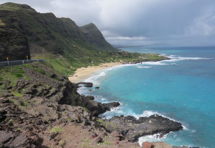 Waimanalo Bay Beach Park, Oahu, Hawaii