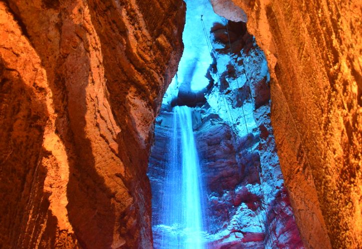 Ruby Falls Haunted Cavern, Tennessee