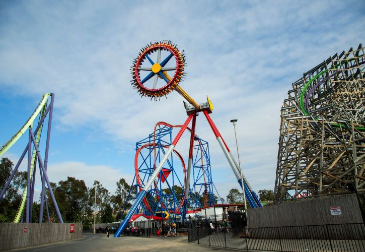 Six Flags Discovery Kingdom, California