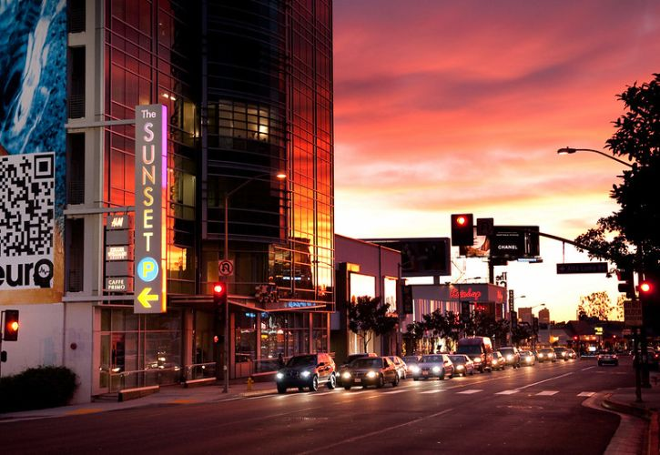 Sunset Boulevard, California