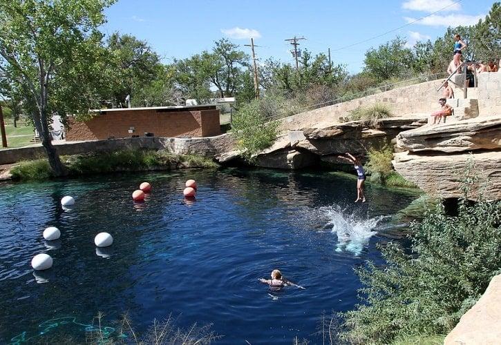 Santa Rosa Blue Hole, Santa Rosa, New Mexico