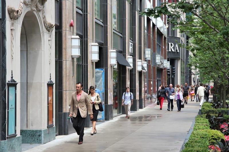 North Michigan Avenue, Chicago