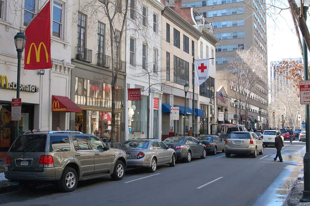 Walnut Street, Philadelphia