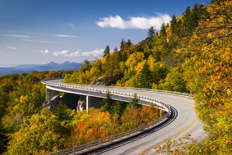 Blue Ridge Parkway, Virginia to North Carolina