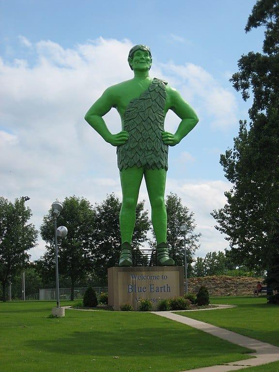 Jolly Green Giant – Blue Earth, Minnesota
