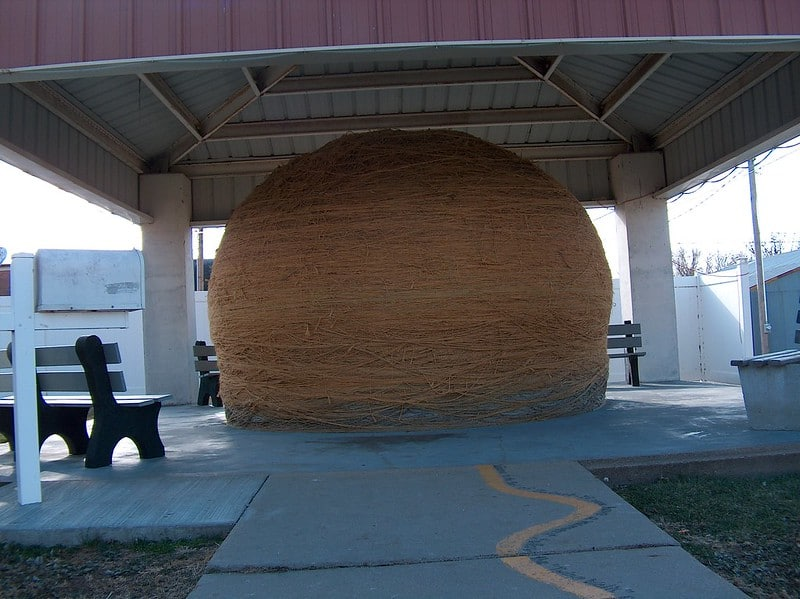 World's Largest Ball of Twine – Cawker City, Kansas