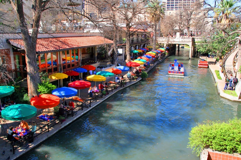 River Walk, San Antonio, Texas