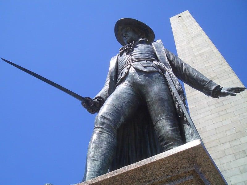 Bunker Hill Monument, Boston, Massachusetts