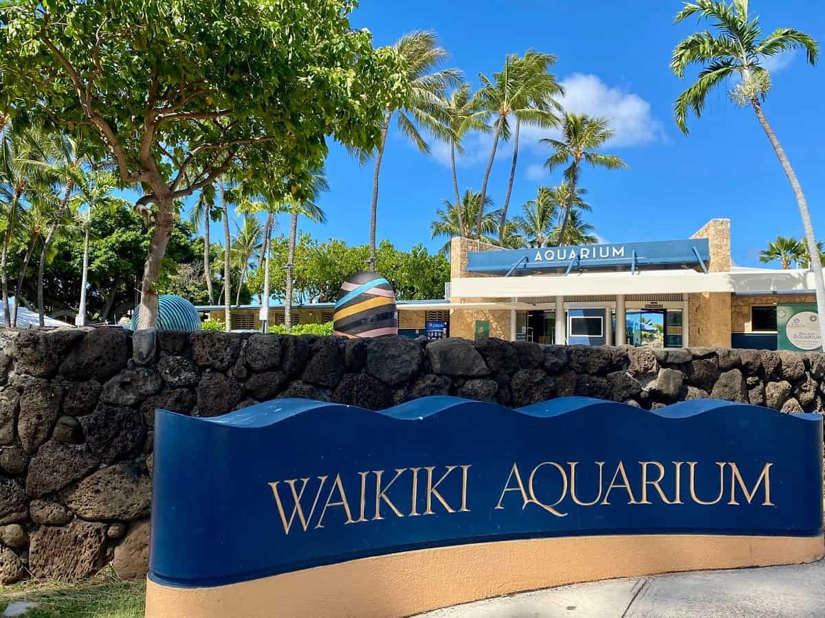Waikiki Aquarium, Honolulu, Hawaii