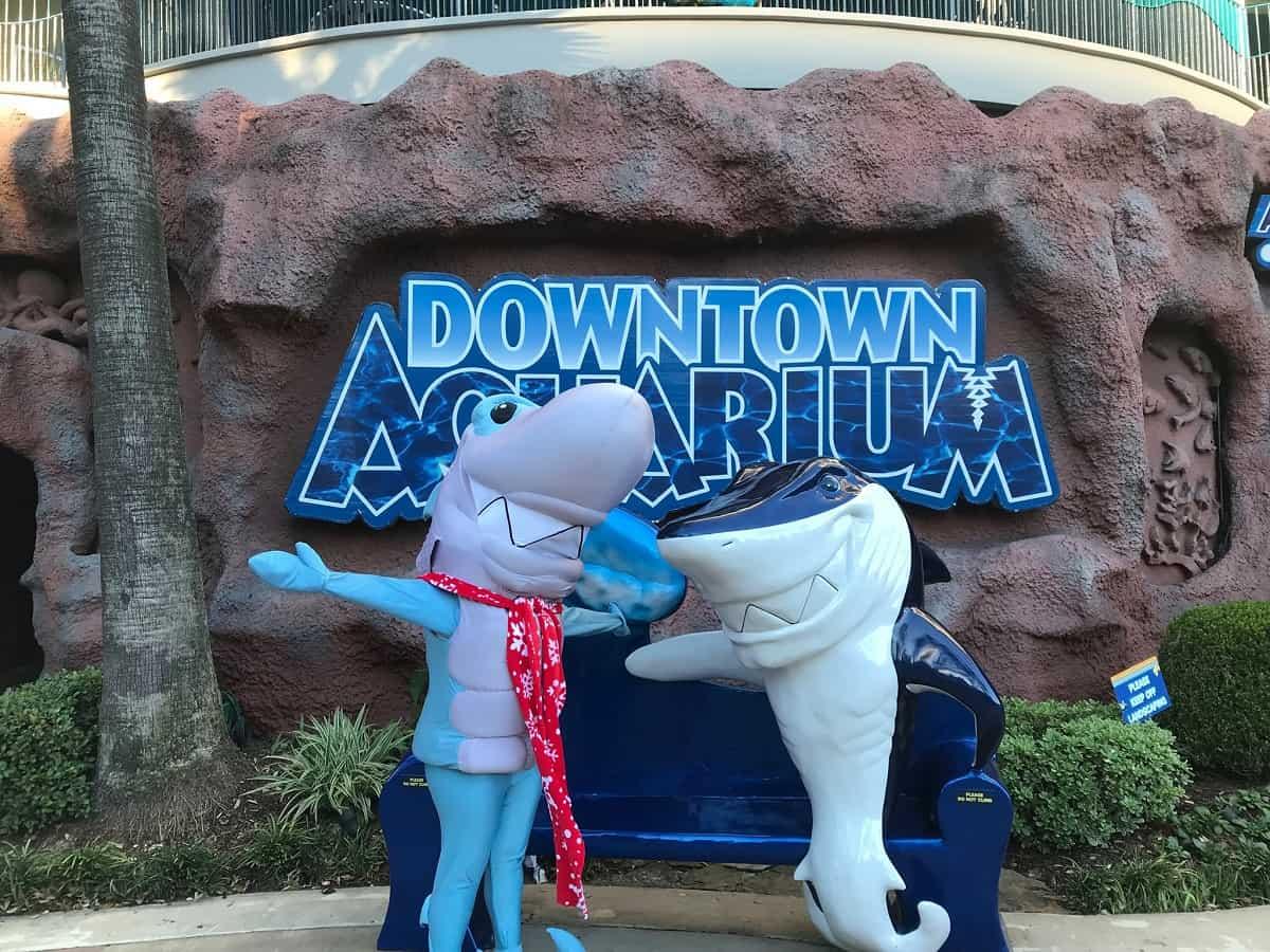 Downtown Aquarium, Houston, Texas