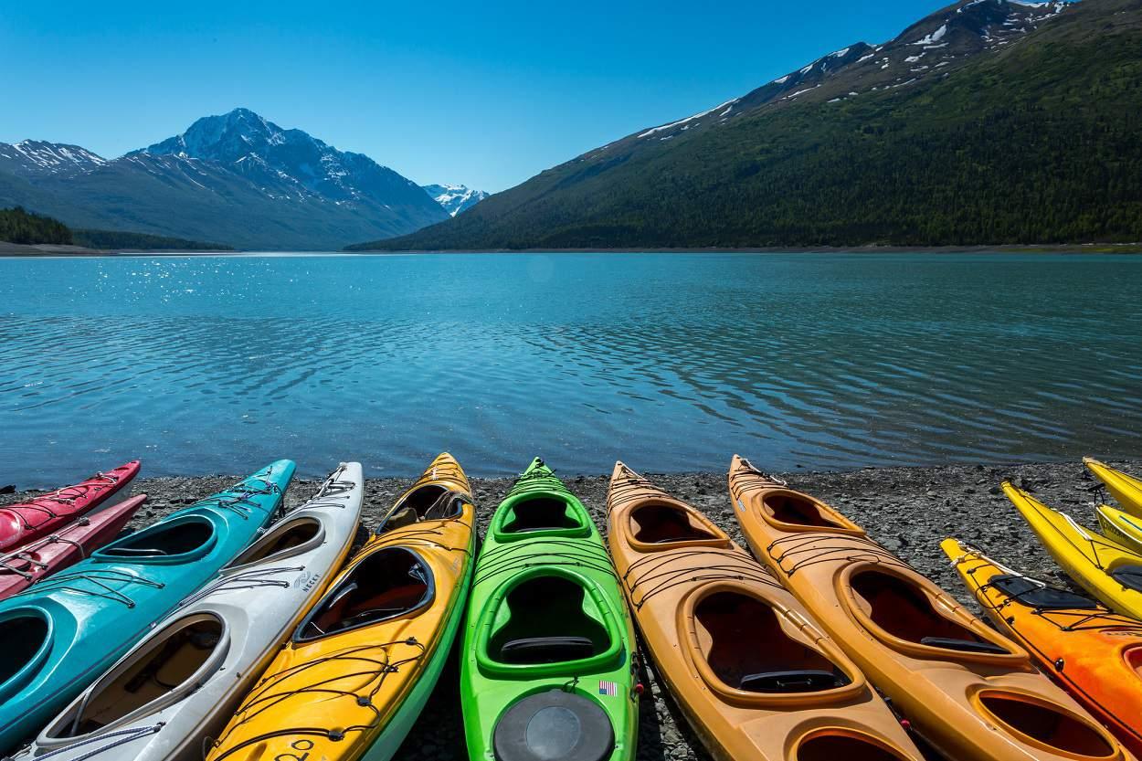 Lake Eklutna, Alaska
