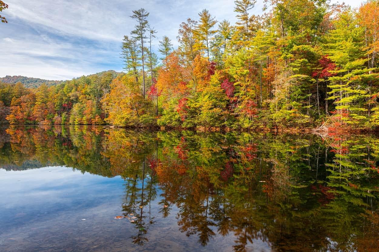 Santeetlah Lake, North Carolina