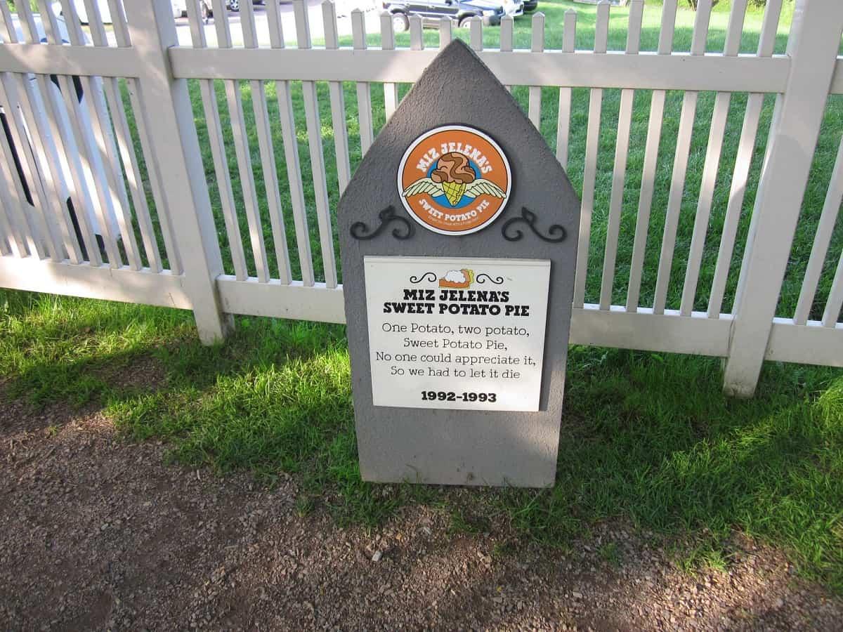 Ben and Jerry's Flavor Graveyard, Waterbury, Vermont