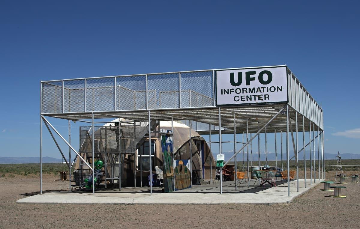 UFO Watchtower, Center, Colorado