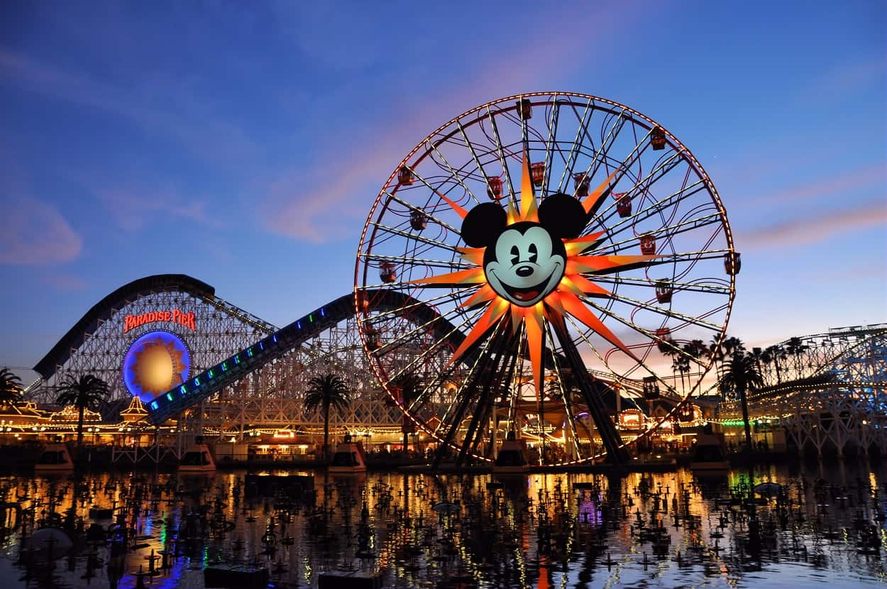 Disney California Adventure Park, Anaheim, California