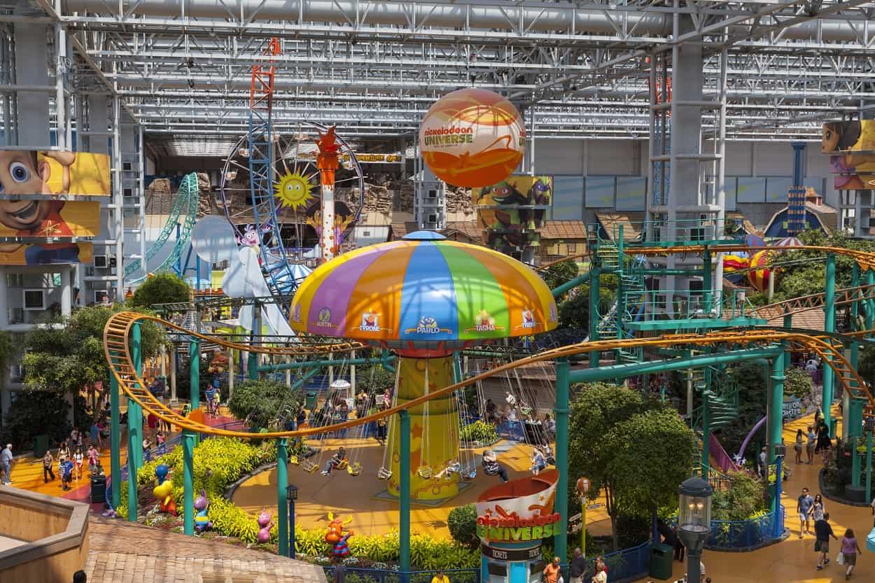 Nickelodeon Universe, Bloomington, Minnesota