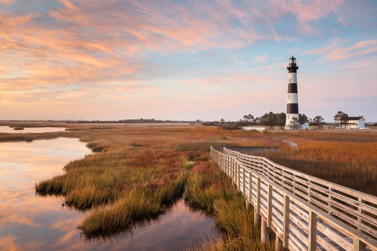 Cape Hatteras, Outer Banks of North Carolina