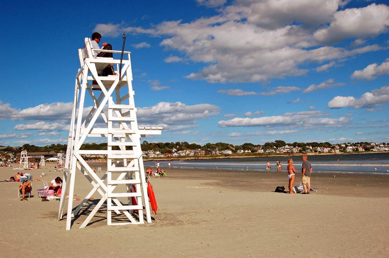Easton's Beach (aka First Beach), Newport, Rhode Island