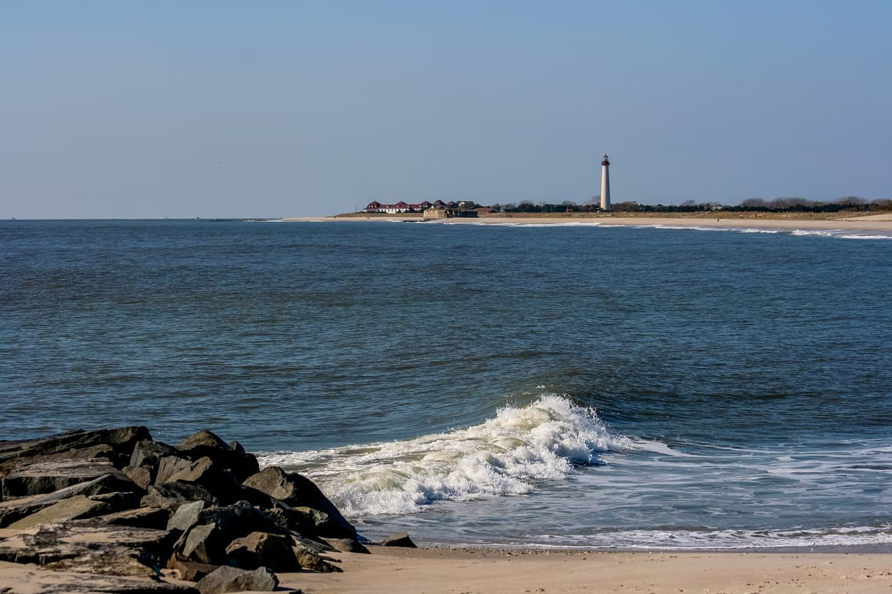 Cove Beach, Cape May, New Jersey