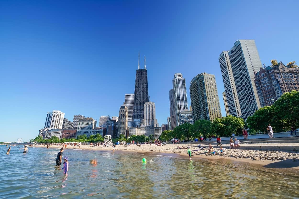 North Avenue Beach, Chicago, Illinois