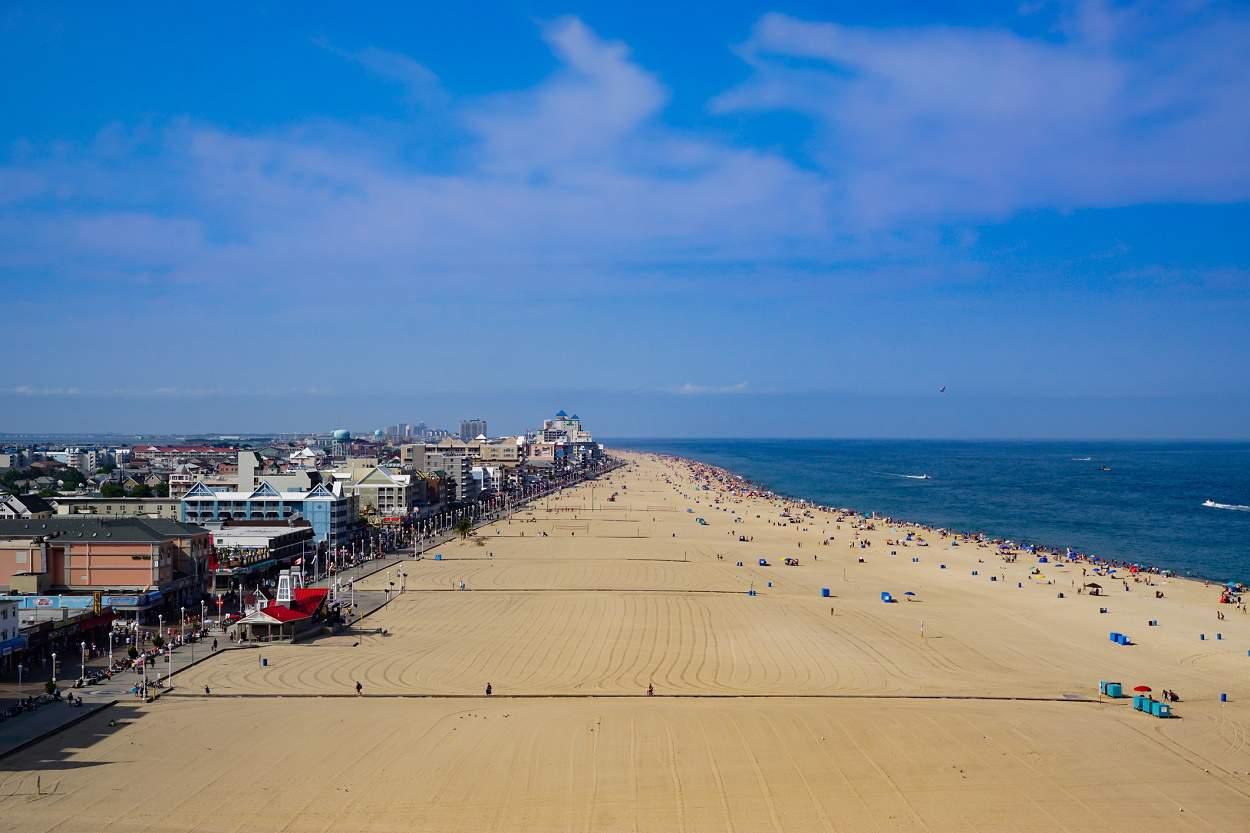 Ocean City Beach, Ocean City, Maryland