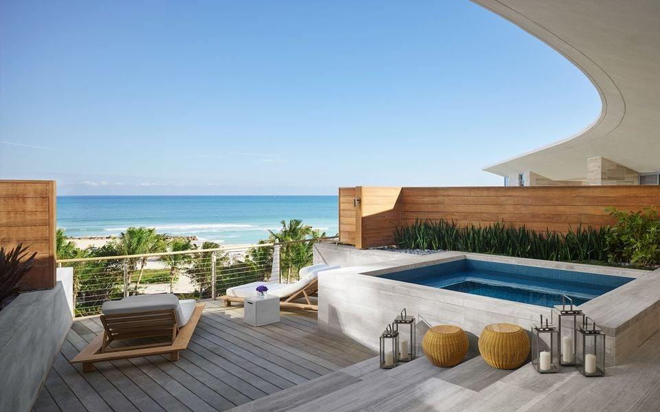 The Miami Edition Hotel, Miami, Florida