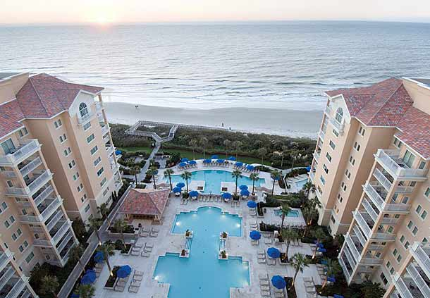 Marriott's Oceanwatch Villas at Grande Dunes, Myrtle Beach, South Carolina