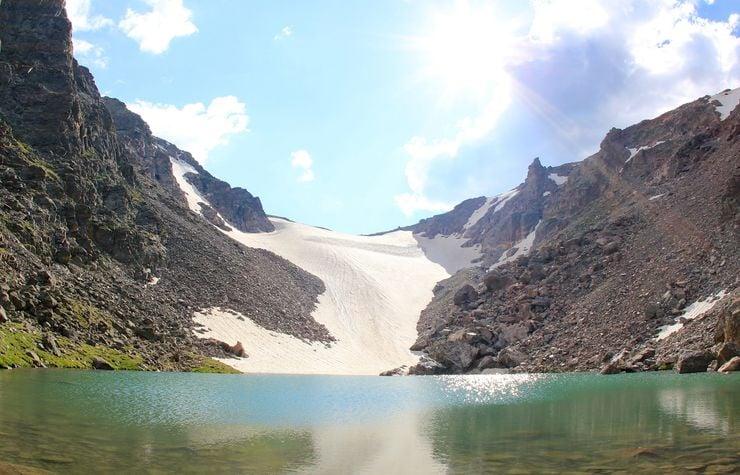 Andrews Glacier, Rocky Mountain National Park, Colorado