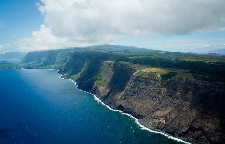 Kalaupapa Cliffs, Hawaii